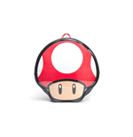 NINTENDO Super Mario Bros. Red Mushroom Shaped Backpack, Multi-colour