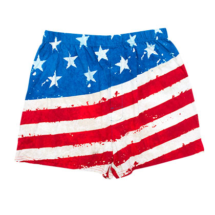 USA PATRIOTIC Flag Boxers