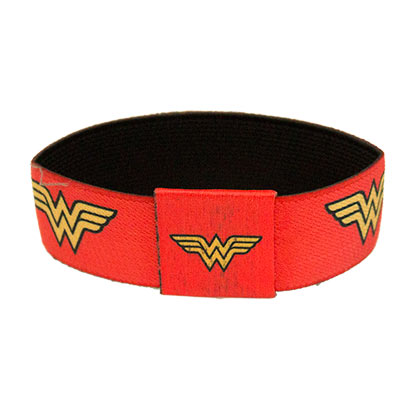 WONDER WOMAN Red Elastic Bracelet