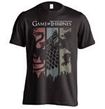 Game of Thrones T-Shirt Sigils Banner