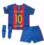 2016-17 Barcelona Home Baby Kit (Rivaldo 10)
