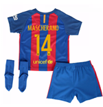 2016-17 Barcelona Home Baby Kit (Mascherano 14)