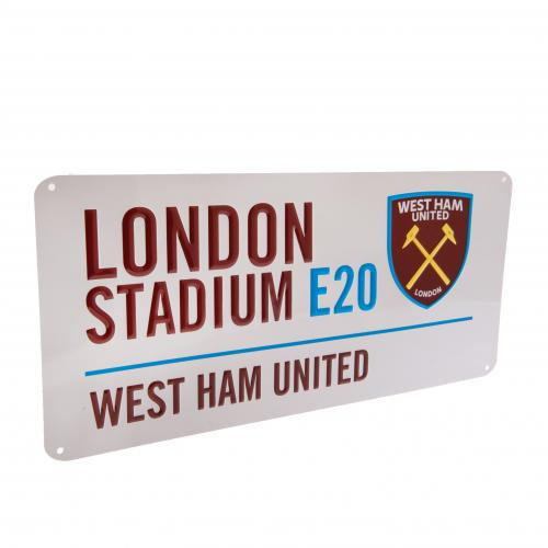 West Ham United F.C. Street Sign