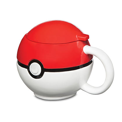 POKEMON Pokeball Molded Mug