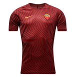 2016-2017 AS Roma Nike Pre-Match Training Shirt (Red) - Kids