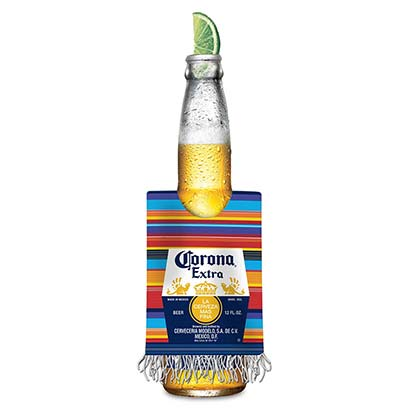 CORONA EXTRA Poncho Bottle Cooler