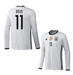 2016-2017 Germany Long Sleeve Home Shirt (Reus 11)