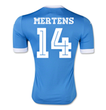 2015-2016 Napoli Authentic Home Shirt (Mertens 14)