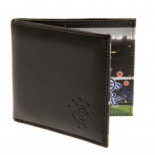 Rangers F.C. Leather Wallet Panoramic 801