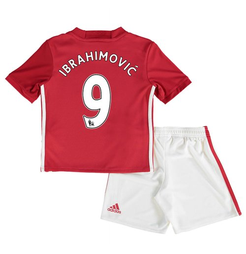 new arrival b3d40 7390f 2016-17 Man United Home Baby Kit (Ibrahimovic 9)