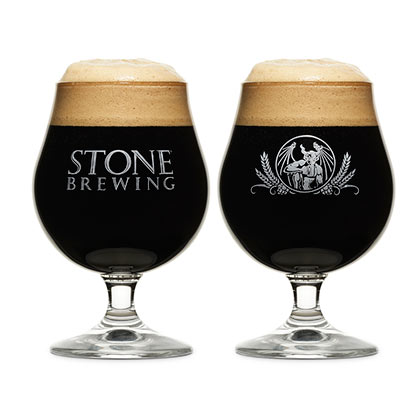 STONE BREWING CO. Specialty Glass
