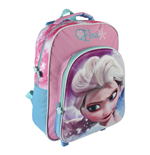 Frozen 3D Trolley Backpack Glossy Elsa
