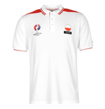 Poland UEFA Euro 2016 Polo Shirt (White)