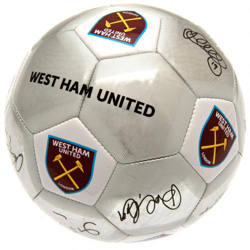 West Ham United F.C. Football Signature SV