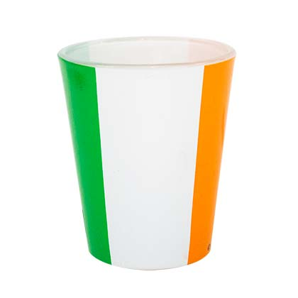 Irish Flag Shot Glass
