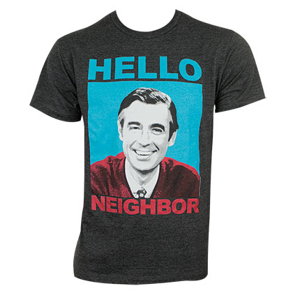 MISTER ROGERS Hello Neighbor Tee Shirt