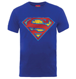 DC Comics Men's Tee: Superman Foil Shield