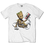 Marvel Comics Men's Tee: Guardians of the Galaxy V. 2 Groot with Tape