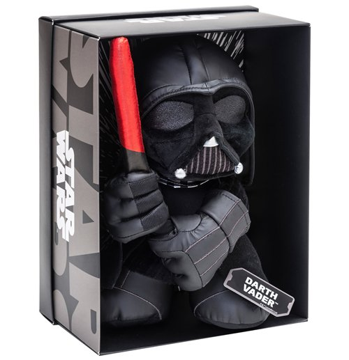Star Wars Black Line Plush Figure Darth Vader 25 cm