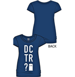 Doctor Who Ladies T-Shirt DCTR