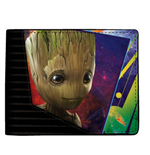 MARVEL COMICS Guardians of the Galaxy Vol. 2 Groot Bi-fold Wallet, Black
