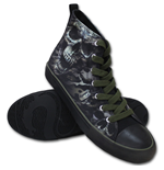 CAMO-SKULL - Sneakers - Men's High Top Laceup