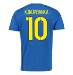 2016-7 Ukraine Away Shirt (Konoplyanka 10)