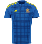 2016-2017 Ukraine Away Adidas Football Shirt