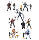 Marvel Legends Series Action Figures 15 cm Guardians of the Galaxy 2017 Wave 1 Assortment (8)
