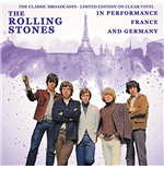Vynil Rolling Stones - In Performance France And Germany - The Classic Broadcasts - Clear Vinyl