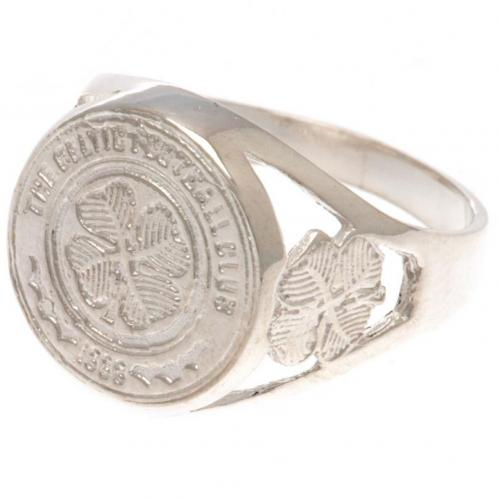 Celtic F.C. Sterling Silver Ring Medium