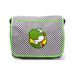 NINTENDO Super Mario Bros. Yoshi Chequered Messenger Bag, Multi-colour