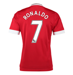 2015-16 Man United Home Shirt (Ronaldo 7)
