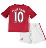 2016-17 Man United Home Mini Kit (Your Name)
