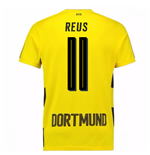 2017-18 Borussia Dortmund Home Short Sleeve Shirt (Kids) (Reus 11)