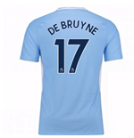 2017-18 Man City Home Shirt (De Bruyne 17)