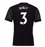 2017-18 Man Utd Away Adidas Shirt (Bailly 3)