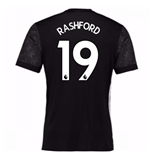 2017-18 Man Utd Away Adidas Shirt (Rashford 19)