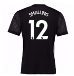 2017-18 Man Utd Away Adidas Shirt (Smalling 12)