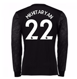 2017-18 Man Utd Away Long Sleeve Shirt (Kids) (Mkhitaryan 22)