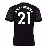 2017-18 Man Utd Away Shirt (Kids) (Ander Herrera 21)