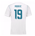 2017-18 Real Madrid Home Shirt (Modric 19)