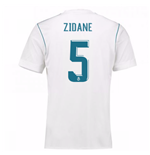 2017-18 Real Madrid Home Shirt (Zidane 5)