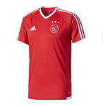 2017-2018 Ajax Adidas Training Shirt (Red)