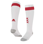 2017-2018 Ajax Adidas Home Football Socks (White)