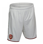 2017-2018 Arsenal Home Football Shorts (White)
