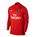 2017-2018 PSG Nike Drill Top (Red)