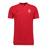 2017-2018 Monaco Nike Authentic Grand Slam Polo Shirt (Red)