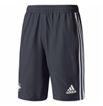 2017-2018 Man Utd Adidas Woven Shorts (Night Grey)