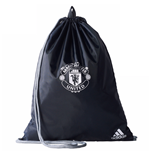 2017-2018 Man Utd Adidas Gym Bag (Mineral Blue)